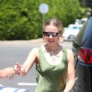 Kristen Bell – Seen leaving the Day of Indulgence party in Brentwood