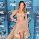 """Jennifer Lopez attends FOX's """"American Idol"""" Finale For The Farewell Season at Dolby Theatre on April 7, 2016 in Hollywood, California"""