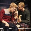 Anthony Rapp and Adam Pascal In The 1996 Musical RENT