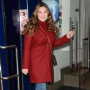 Kelly Brook – Arriving at Global House in London - 454 x 702