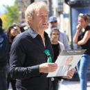Michael Bolton was at The Grove in Hollywood California on March 25, 2017. Bolton was there promoting a new release on vinyl