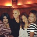 Amber Rose, Karrueche, and Christina Milian at the Laugh Factory in Los Angeles, California - January 18, 2014 - 454 x 454