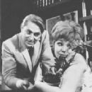 """John Cullum, Barbara Harris In the 1965 Broadway Musical """"On a clear day you can see forever"""""""