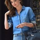 Miranda Kerr leaving her Apartment in New York City July 20, 2014