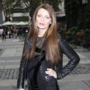 Mischa Barton - Departing The Lacoste Fashion Show, 2009-09-12