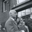 Otto Frank at the ceremony for the construction of the student apartments - 454 x 460
