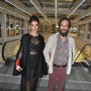 Kaan Tasaner & Selin Sekerci attends Karisik Kaset Premiere (November 18, 2014)