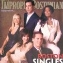 Kizzy on the cover of the Improper Bostonian Magazine
