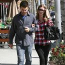 Nicky Hilton And David Katzenberg Out And About In Beverly Hills