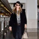 Molly Sims is seen at LAX airport