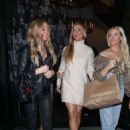 Joanna Krupa and Denise Richards at Catch in West Hollywood