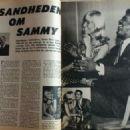 Sammy Davis Jr. - Billed Bladet Magazine Pictorial [Denmark] (8 January 1965) - 454 x 325