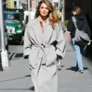 Ashley Greene stosp by the AOL Studios building in New York City, New York on April 6, 2016
