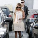 Ashley Tisdale: stepped out for a spot of shopping in West Hollywood