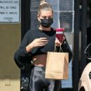 Hailey Bieber – Seen after her workout in West Hollywood
