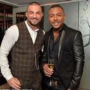 Marcus Collins (singer) and Robin Windsor - 454 x 393