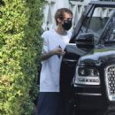 Hailey Bieber and Justin Bieber – Seen after running errands in Beverly Hills