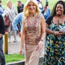 Holly Willoughby Arrives at This Morning Live in Birmingham - 454 x 741