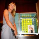 Maria Sharapova Showcases Tiffany Earrings Ahead Of Australian Open