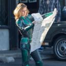 Brie Larson as Carol Danvers/Captain Marvel (2019)