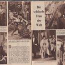 Gina Lollobrigida - Mein Film Magazine Pictorial [Austria] (24 August 1956) - 454 x 312