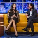Liv Tyler and Kit Harington - The Jonathan Ross Show - 454 x 445