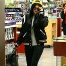 Kylie Jenner Shopping At Sephora In Calabasas