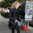 Leelee Sobieski - Out in New York City - 2010-10-18
