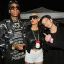 Amber Rose and Wiz Khalifa attend the 2014 mtvU Woodie Awards and Festival in Austin, Texas - March 13, 2014