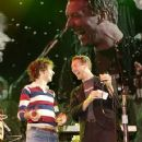 Beck and Chris Martin and Juliette Lewis
