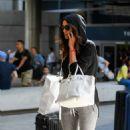 Irina Shayk – Seen as she arrives at LAX