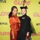 Kat Graham – Netflix 'Glow' Roller Skating Event in Los Angeles - 454 x 681