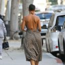 Nicole Murphy in Summer Dress – Out in Beverly Hills - 454 x 589