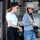 Amber Heard and Tasya Van Ree shopping in Hollywood - 454 x 681