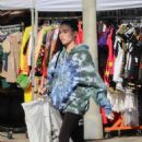 Madison Beer – Shopping at American Vintage clothing store in Los Angeles