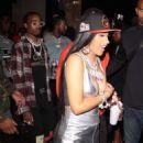 Cardi B – Leaving Argyle nightclub in Los Angeles