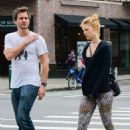 Claire Danes and Hugh Dancy out in New York City