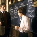 Kevin Kline is William Hundert, a dedicated and inspiring Classics professor whose life is inexorably changed by Sedgewick Bell (Emile Hirsch), the headstrong son of a powerful senator, in Universal's The Emperor's Club - 2002