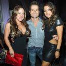 DWTS Party Sabrina Bryan Louis Van Amsterl and Cheryl Burke