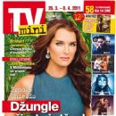 Brooke Shields - TV Mini Magazine Cover [Czech Republic] (26 March 2011)