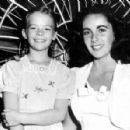 natalie with liz taylor