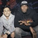Usain Bolt enjoying his retirement as Jamaican sprint king is seen partying at the Libertine in central London until 3.30am while wearing 'F*** Rules' hat
