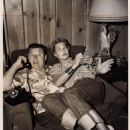 Lola Albright and Jack Carson
