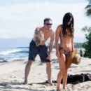 Megan Fox in Bikini on the beach in Kailua-Kona