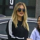 Khloe Kardashian Filming for her TV show in Culver City
