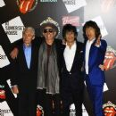 The Rolling Stones celebrate their 50th anniversary with an exhibition at Somerset House on July 12, 2012 in London, England - 370 x 480