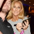 Celine Dion – Signs autographs for fans after her show in Sydney