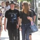 Meaghan Martin - Eats Out At Mexicali In Studio City June 29, 2010