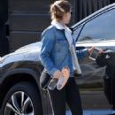 Kate Mara – Leaving a dance class in Los Angeles