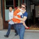 Tom Cruise out with Suri in NYC (July 17)